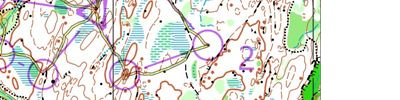 Orienteering intervals part 1 (2018-04-12)