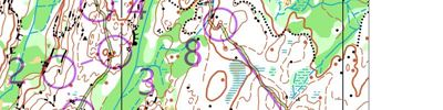 Orienteering intervals warm-up (2018-04-12)