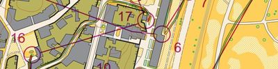 WOC sprint relay 1st leg (2018-08-05)