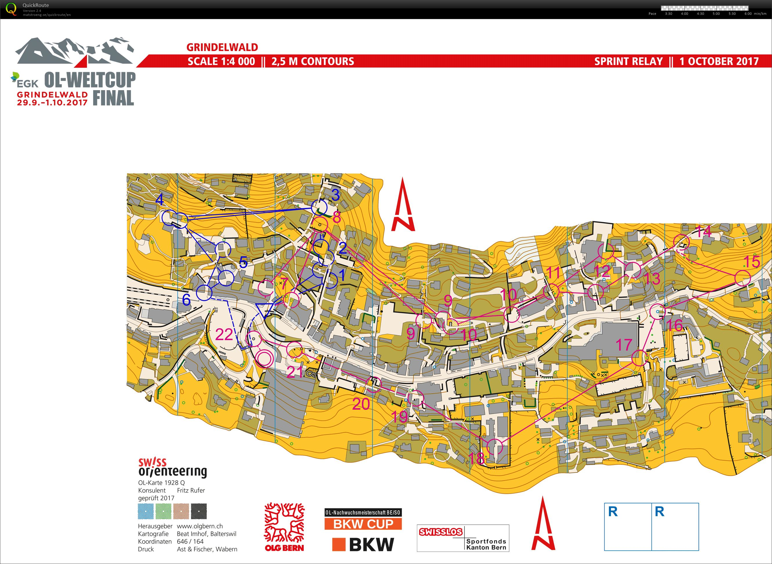 My digital orienteering map archive :: WCup Grindelwald || Sprint ...